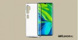 Xiaomi Mi Note 10/ Note 10 Pro ultra slim szilikon védőtok